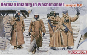 German Infantry in Wachtmantel 1/35 Dragon