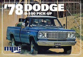 Dodge D-100 Custom Pick-up ´1978 1/25