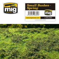 Small bushes - Spring do diorámy AMIG8360