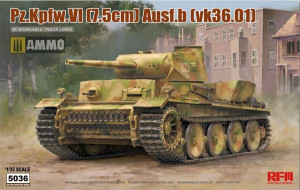 Pz.Kpfw. VI Ausf. B w/workable track links 1/35