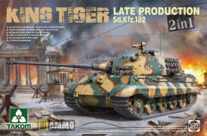Pz.Kpfw. VI King Tiger Late Production 2in1 1/35