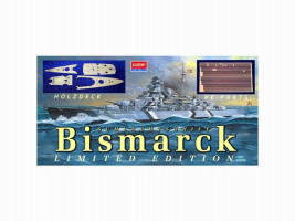 Bismarck Special Edition (wooden deck, PE Parts, Metal barrels) LimEd 1/350