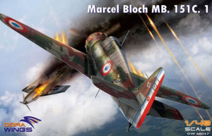 Marcel-Bloch MB.152C.1 1/48 Dora Wings