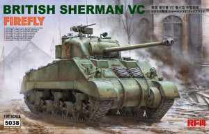 British Sherman Vc Firefly w/workable track links 1/35