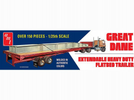 Great dane Extendable Hevy Duty Flatbed Trailer 1/25