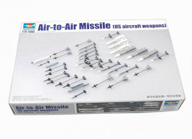 US aircraft weapon-Air-to-Air Missile 1/32
