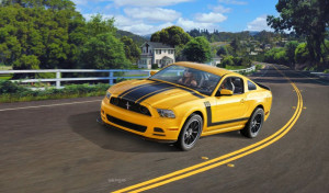 Ford Mustang 2013 Boss 302 1/25