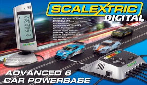 Digital 6 car Power Base