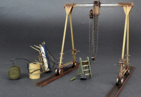 5 Ton Gantry Crane & Equipment 1/35