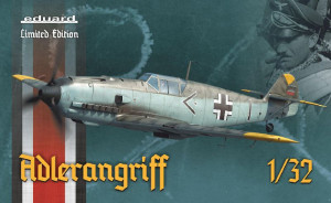 ADLERANGRIFF Messerschmitt Bf 109E,Limited Edition 1/32