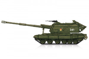 2S19-M1 Msta Self-propelled Howitzer 1/72