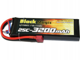 Akumulátor Black Magic LiPol 3200mAh/11,1V 25C DEAN