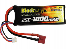 Akumulátor Black Magic LiPol 1800mAh/7,4V 25C DEAN
