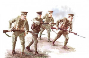 British Infantry 1914 WW1  1/35   ICM 35684