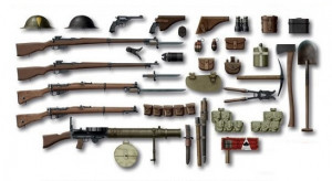 British Infantry WW1 Weapons  1/35