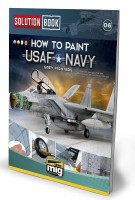 Publikácia MIG How To Paint USAF Navy Grey Fighters Solution Book