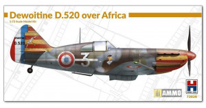 Dewoitine D.520 over Africa 1/72