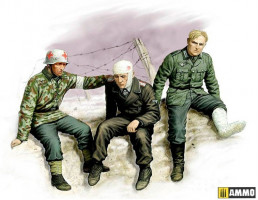 Ticket Home wounded soldiers 1/35