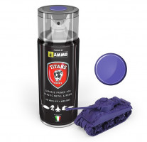 Farba Magic Purple Matt Primer sprej 400ml TITANS HOBBY