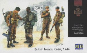 British troops, Caen 1944 1/35