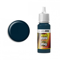 Farba MIG Crystal Black Blue (and Tail Light OFF) 17ml