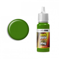 Farba MIG Crystal Green Periscope (and Tail Light ON) 17ml