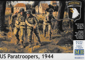 US paratroopers (1944) 1/35