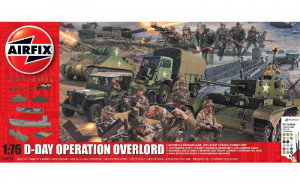 D-Day Operation Overlord Gift Set 1/76