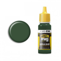 Farba MIG FS 34092 Medium Green AMIG0238 17ml