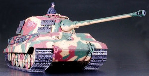 Pz.Kpfw. VI King Tiger Henschel veža 1/16 KIT