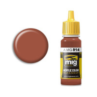 Farba MIG Red Brown Light 17ml