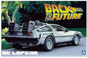 Back To The Future DeLorean From Part I 1/24