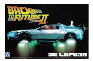 Back To The Future DeLorean From Part II 1/24