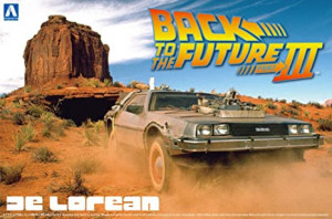 Back To The Future DeLorean From Part III 1/24