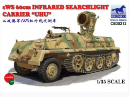 sWS 60cm Infrared Searchlight Carrier UHU 1/35