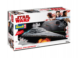 Imperial Star Destroyer Build & Play Star Wars 1/4000