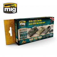 Farby sada MIG WARGAME Early and DAK German Set