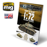 Publikácia MIG How to paint 1:72 Military Vehicles (English)