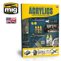 Publikácia MIG Modelling Guide: How to paint with Acrylics (English)