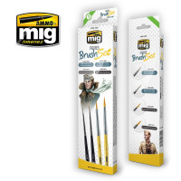 Sada štetcov MIG Figures Brush Set 4 ks