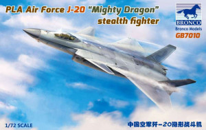 """J-20 """"Mighty Dragon"""" stealth fighter 1/72"""