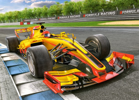 Racing Bolide on Track, Puzzle 60