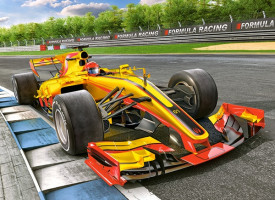 Racing Bolide on Track, Puzzle 300