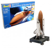 Space Shuttle Discovery + Booster Rockets  1/144