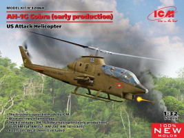 Bell AH-1G Cobra (early production), US Attack Helicopter 1/32