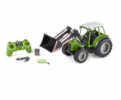 Carson RC Tractor w. front loader zelený 1/16 RTR