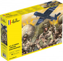 Airspeed A.S. 51 Horsa + Paratroopers 1/24