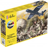 Airspeed A.S. 51 Horsa + Paratroopers StarterKit 1/72
