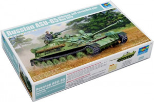ASU-85 Airborne self propelled Gun 1/35