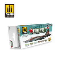 Farby sada MIG Cold War Soviet Fighters & Bombers